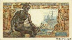 1000 Francs DÉESSE DÉMÉTER FRANCE  1943 F.40.22 pr.SUP