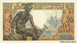 1000 Francs DÉESSE DÉMÉTER FRANCE  1943 F.40.24 pr.SUP