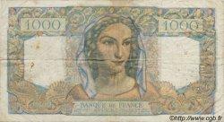 1000 Francs MINERVE ET HERCULE FRANCE  1945 F.41 B à TB