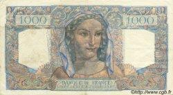 1000 Francs MINERVE ET HERCULE FRANCE  1945 F.41.07 TTB+