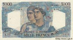 1000 Francs MINERVE ET HERCULE FRANCE  1945 F.41.08 TTB