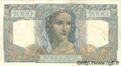 1000 Francs MINERVE ET HERCULE FRANCE  1945 F.41.08 pr.SUP