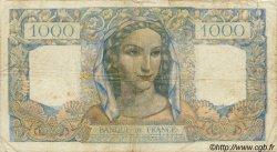 1000 Francs MINERVE ET HERCULE FRANCE  1945 F.41.09 pr.TB
