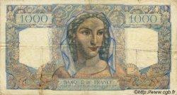 1000 Francs MINERVE ET HERCULE FRANCE  1946 F.41.13 TB à TTB