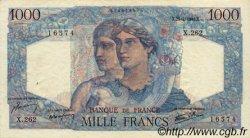 1000 Francs MINERVE ET HERCULE FRANCE  1946 F.41.13 TTB+