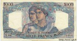 1000 Francs MINERVE ET HERCULE FRANCE  1946 F.41.15 TTB+ à SUP