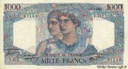 1000 Francs MINERVE ET HERCULE FRANCE  1946 F.41.15 pr.SUP