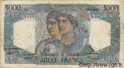 1000 Francs MINERVE ET HERCULE FRANCE  1948 F.41.21 TB+