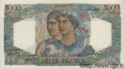 1000 Francs MINERVE ET HERCULE FRANCE  1950 F.41.33 TTB
