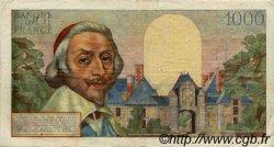 1000 Francs RICHELIEU FRANCE  1953 F.42.03 pr.TTB