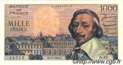 1000 Francs RICHELIEU FRANCE  1954 F.42.07 SUP+