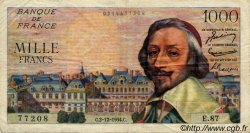 1000 Francs RICHELIEU FRANCE  1954 F.42.09