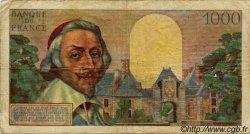 1000 Francs RICHELIEU FRANCE  1954 F.42.09 pr.TB