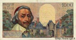 1000 Francs RICHELIEU FRANCE  1955 F.42.10
