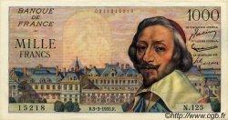 1000 Francs RICHELIEU FRANCE  1955 F.42.11 SUP+