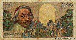 1000 Francs RICHELIEU FRANCE  1955 F.42.12 B à TB