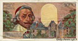 1000 Francs RICHELIEU FRANCE  1956 F.42.18 TTB