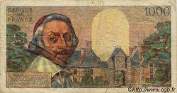 1000 Francs RICHELIEU FRANCE  1956 F.42.18 TB
