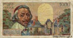 1000 Francs RICHELIEU FRANCE  1956 F.42.19 TB