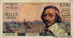 1000 Francs RICHELIEU FRANCE  1956 F.42.22 TB+