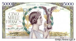 5000 Francs VICTOIRE FRANCE  1934 F.44.00 NEUF
