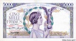 5000 Francs VICTOIRE Taille Douce FRANCE  1935 F.44.03 TTB+