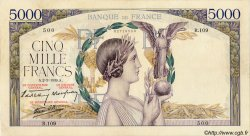 5000 Francs VICTOIRE Impression à plat FRANCE  1939 F.46.03 pr.TTB