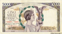 5000 Francs VICTOIRE Impression à plat FRANCE  1939 F.46.11 pr.TTB