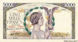 5000 Francs VICTOIRE Impression à plat FRANCE  1940 F.46.17 TTB+