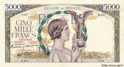 5000 Francs VICTOIRE Impression à plat FRANCE  1940 F.46.18 SUP
