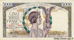 5000 Francs VICTOIRE Impression à plat FRANCE  1940 F.46.18 TTB+