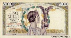 5000 Francs VICTOIRE Impression à plat FRANCE  1941 F.46.19 TTB+ à SUP