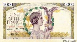 5000 Francs VICTOIRE Impression à plat FRANCE  1941 F.46.31 TTB+