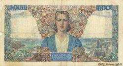 5000 Francs EMPIRE FRANÇAIS FRANCE  1942 F.47.02 TB