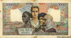 5000 Francs EMPIRE FRANCAIS FRANCE  1942 F.47.06 B+