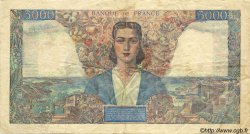 5000 Francs EMPIRE FRANçAIS FRANCE  1945 F.47.22 TTB