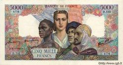 5000 Francs EMPIRE FRANÇAIS FRANCE  1945 F.47.23 pr.SUP