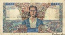 5000 Francs EMPIRE FRANÇAIS FRANCE  1945 F.47.23 pr.TTB