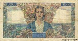 5000 Francs EMPIRE FRANÇAIS FRANCE  1945 F.47.44 TB