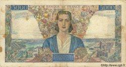 5000 Francs EMPIRE FRANÇAIS FRANCE  1945 F.47.45 B+ à TB