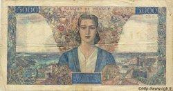 5000 Francs EMPIRE FRANÇAIS FRANCE  1946 F.47.51 B+
