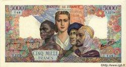 5000 Francs EMPIRE FRANÇAIS FRANCE  1946 F.47.53 SUP+