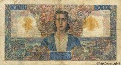 5000 Francs EMPIRE FRANÇAIS FRANCE  1946 F.47.54 B+