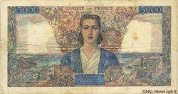 5000 Francs EMPIRE FRANÇAIS FRANCE  1946 F.47.54 B à TB