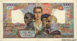 5000 Francs EMPIRE FRANÇAIS FRANCE  1947 F.47.59