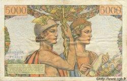 5000 Francs TERRE ET MER FRANCE  1951 F.48.04 TTB