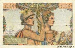 5000 Francs TERRE ET MER FRANCE  1953 F.48.09 TTB
