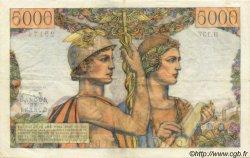 5000 Francs TERRE ET MER FRANCE  1953 F.48.09 TTB+ à SUP