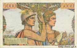 5000 Francs TERRE ET MER FRANCE  1957 F.48.13 pr.TTB
