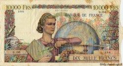 10000 Francs GÉNIE FRANÇAIS FRANCE  1946 F.50.07 AB